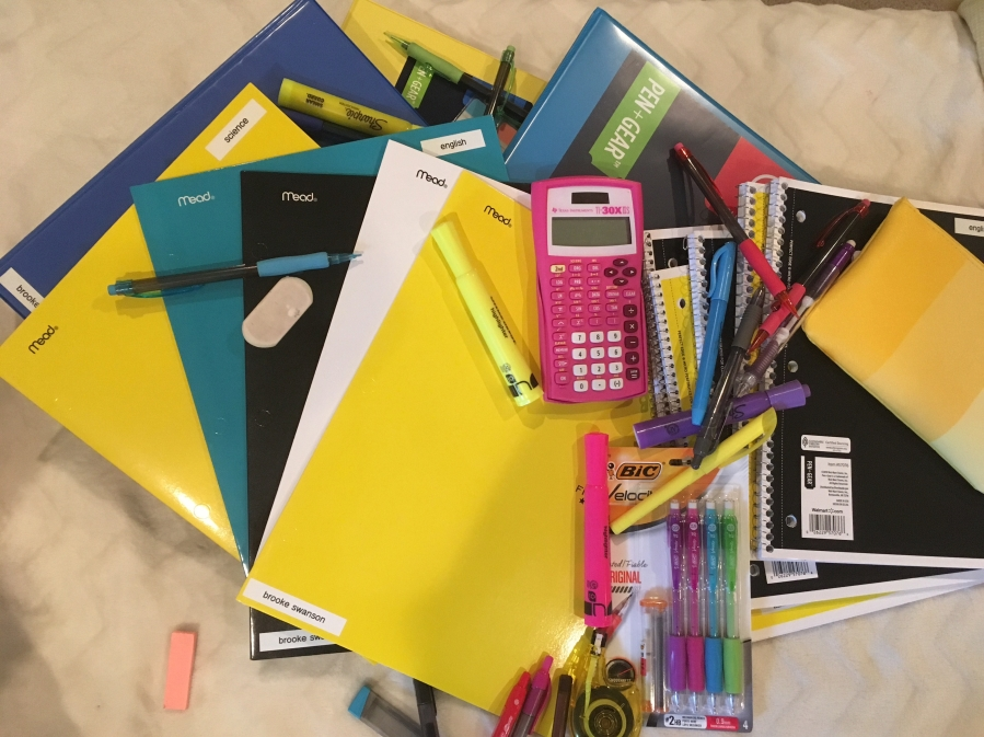 School Supplies Haul