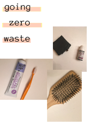 going zero waste- setup